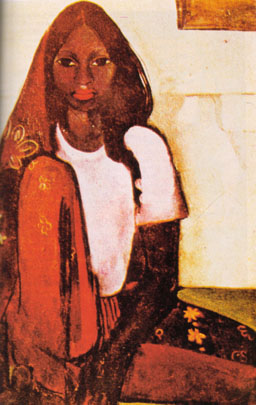 """Амрита Шер-Гил. """"Девочка-невеста"""". 1936 г."""
