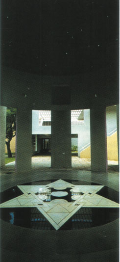Чарльз Корреа. Университетский Центр Астрономии и Астрофизики. Университет в Пуне.