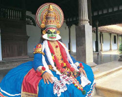 Катхакали - местное театральное искусство