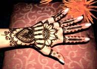 Хенна - древнее индийское искусство рисунка на теле