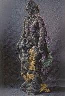 "Мриналини Мукерджи ""Женщина на павлине"" (1991)"