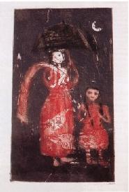 """Рокейя Султана """"Мать и дитя"""" (из серии Мадонн, 1995)"""